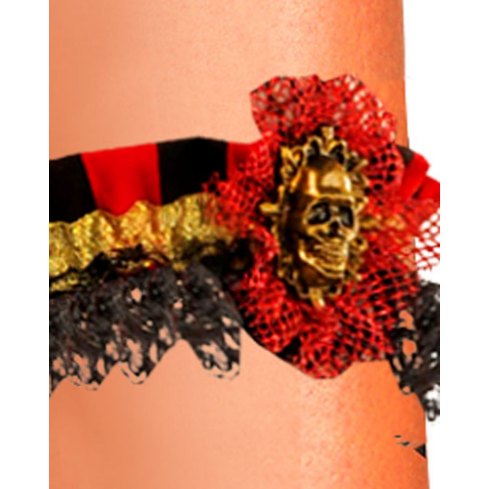 Pirate Leg Garter Image #2