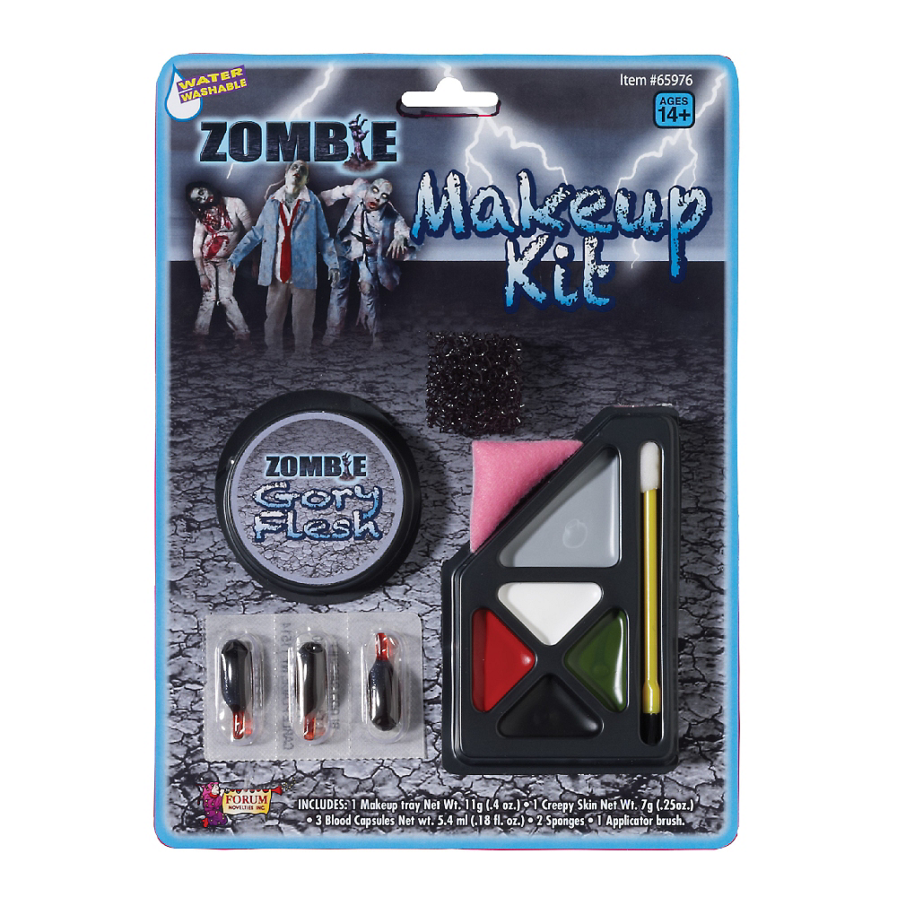 Deluxe Zombie Makeup Kit Image #1