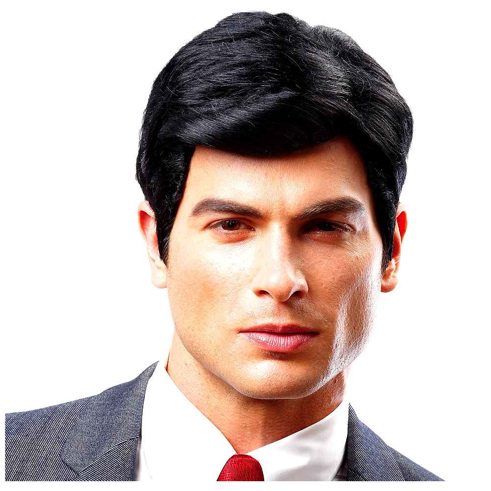 Adult Real Man Wig Image #1