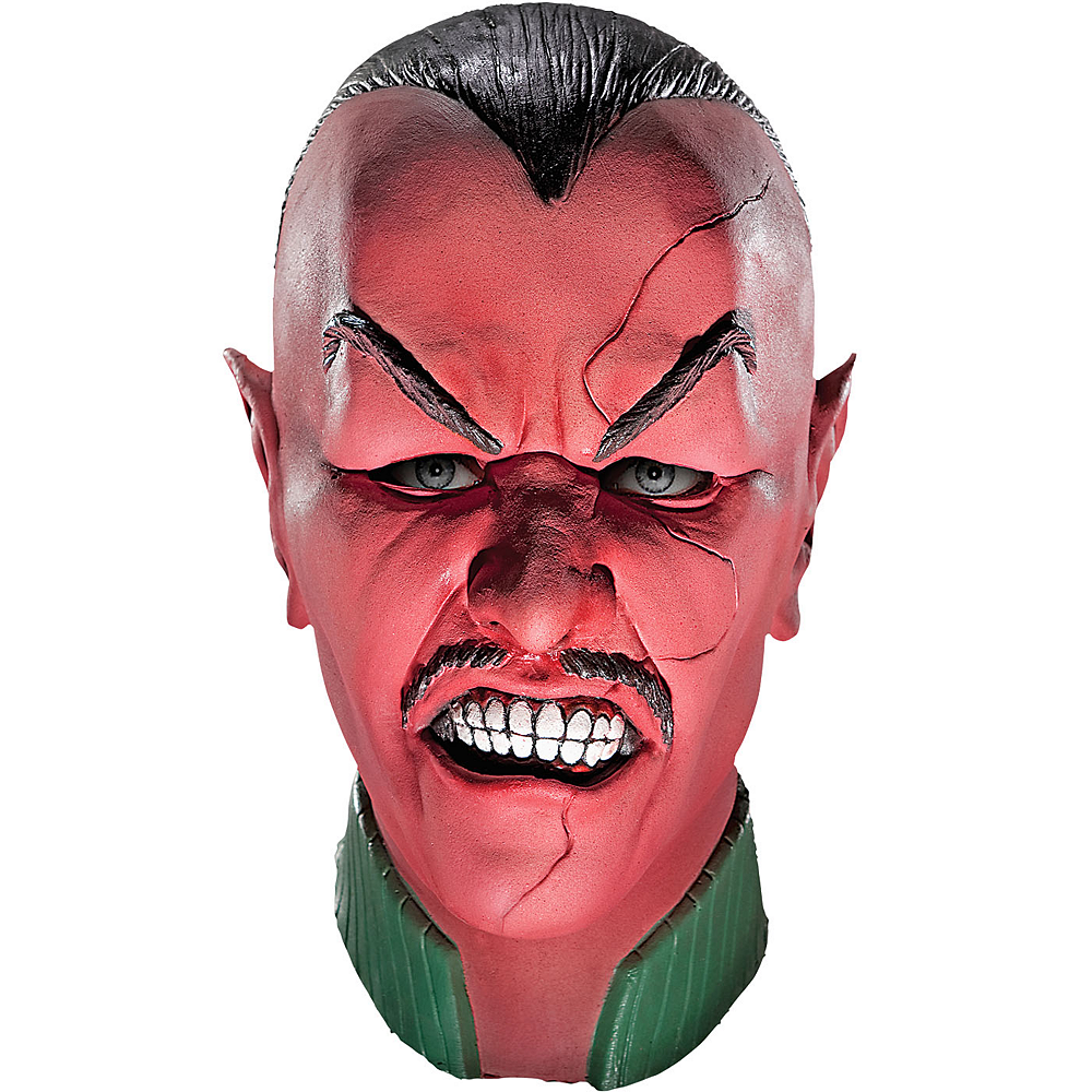 Green Lantern Latex Sinestro Mask Deluxe Image #1