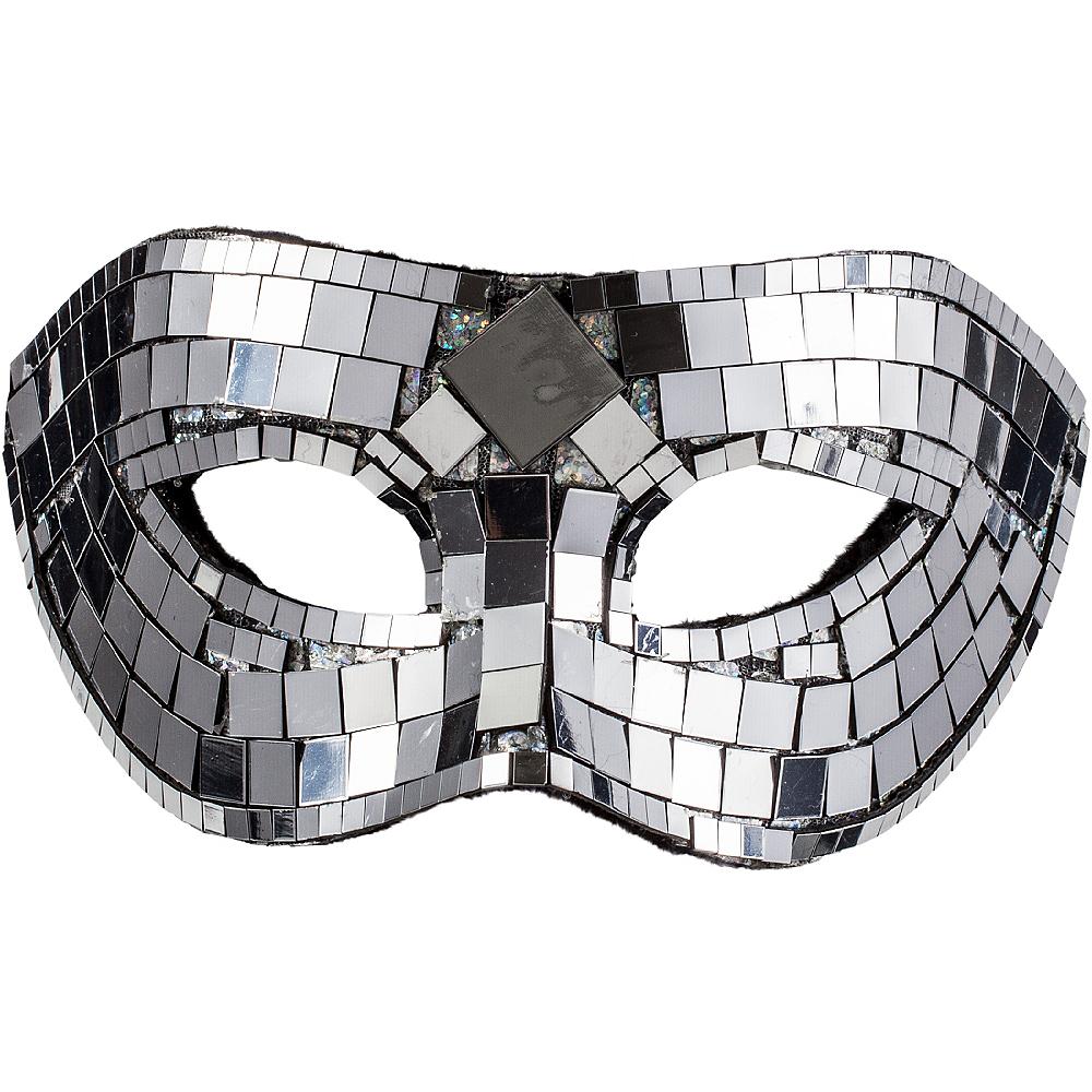 Mirror Masquerade Mask Image #1