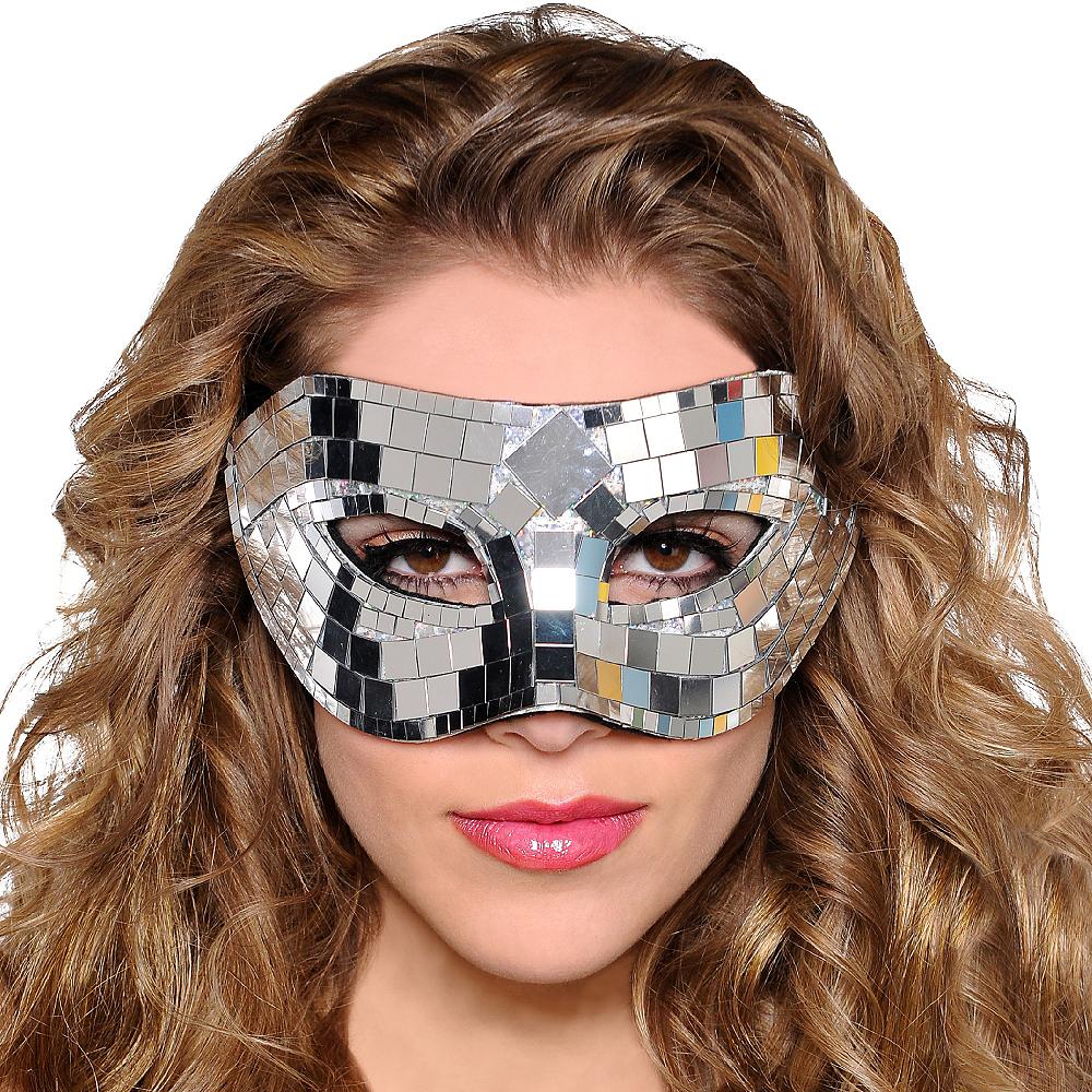 Mirror Masquerade Mask Image #2