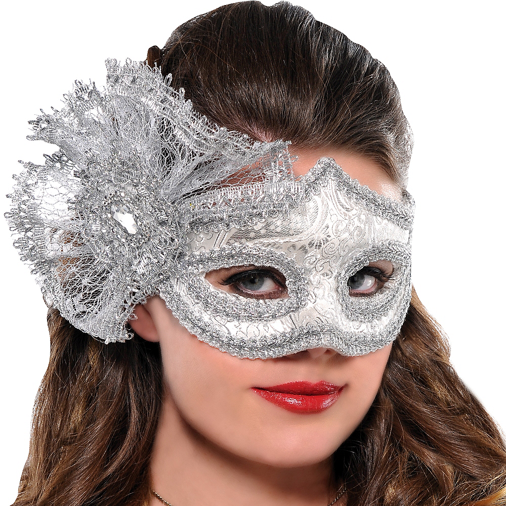 Nav Item for Brocade Parisian Masquerade Mask Image #2
