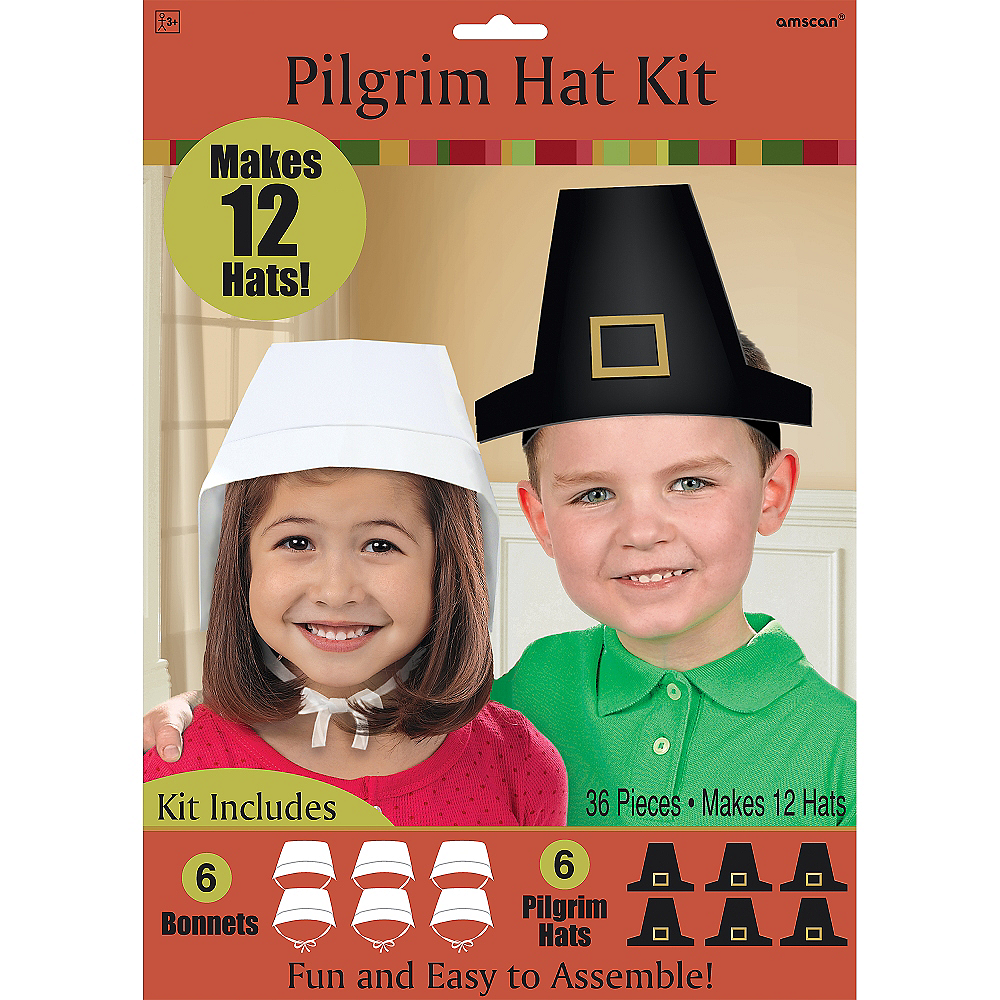 Pilgrim Hat Craft Kit for 12 Image #2