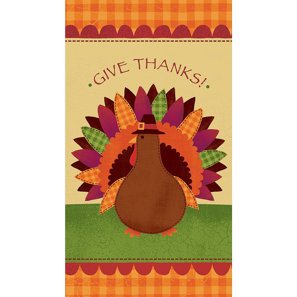 Turkey Dinner Guest Towels 16ct Image #1