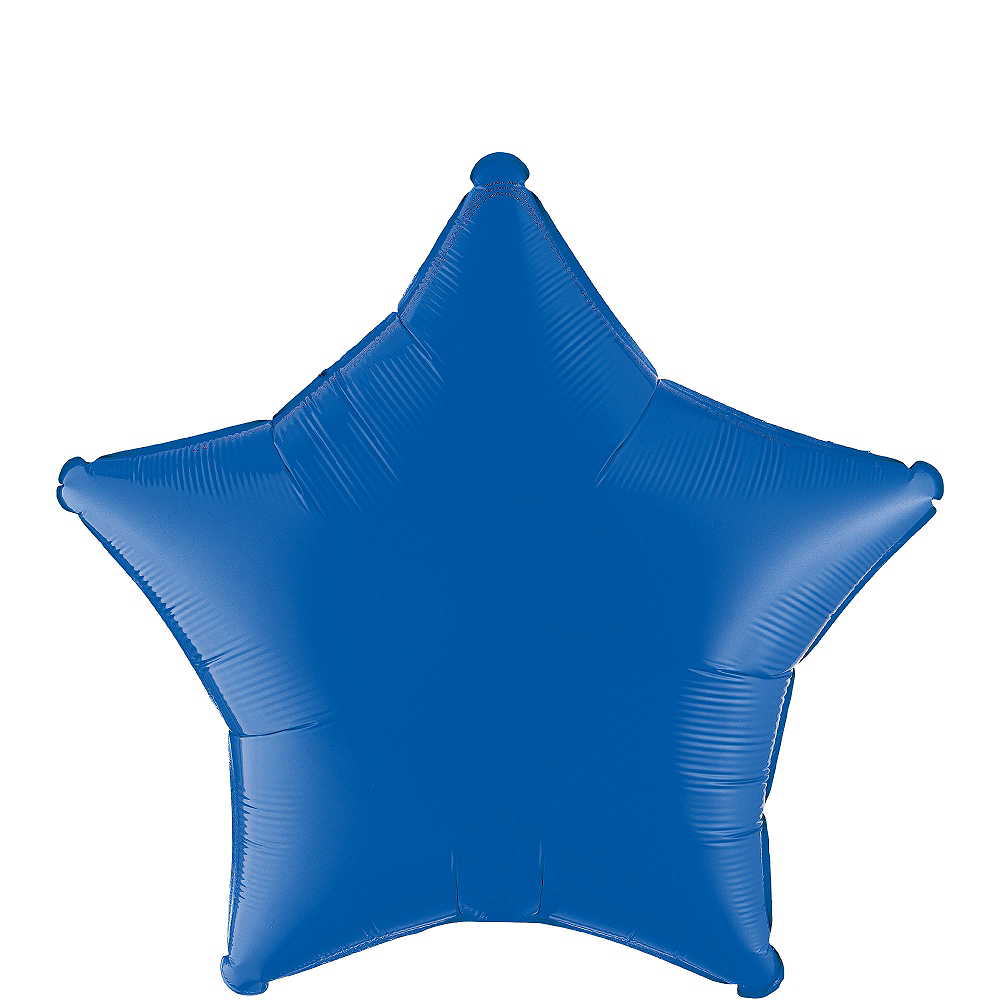 Nav Item for Blue Star Balloon, 19in Image #1