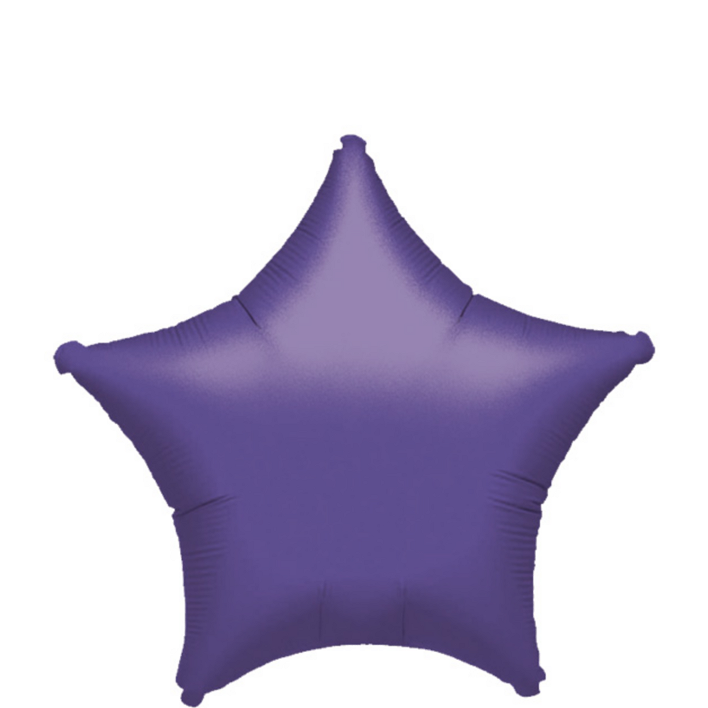 Purple Star Balloon, 19in Image #1