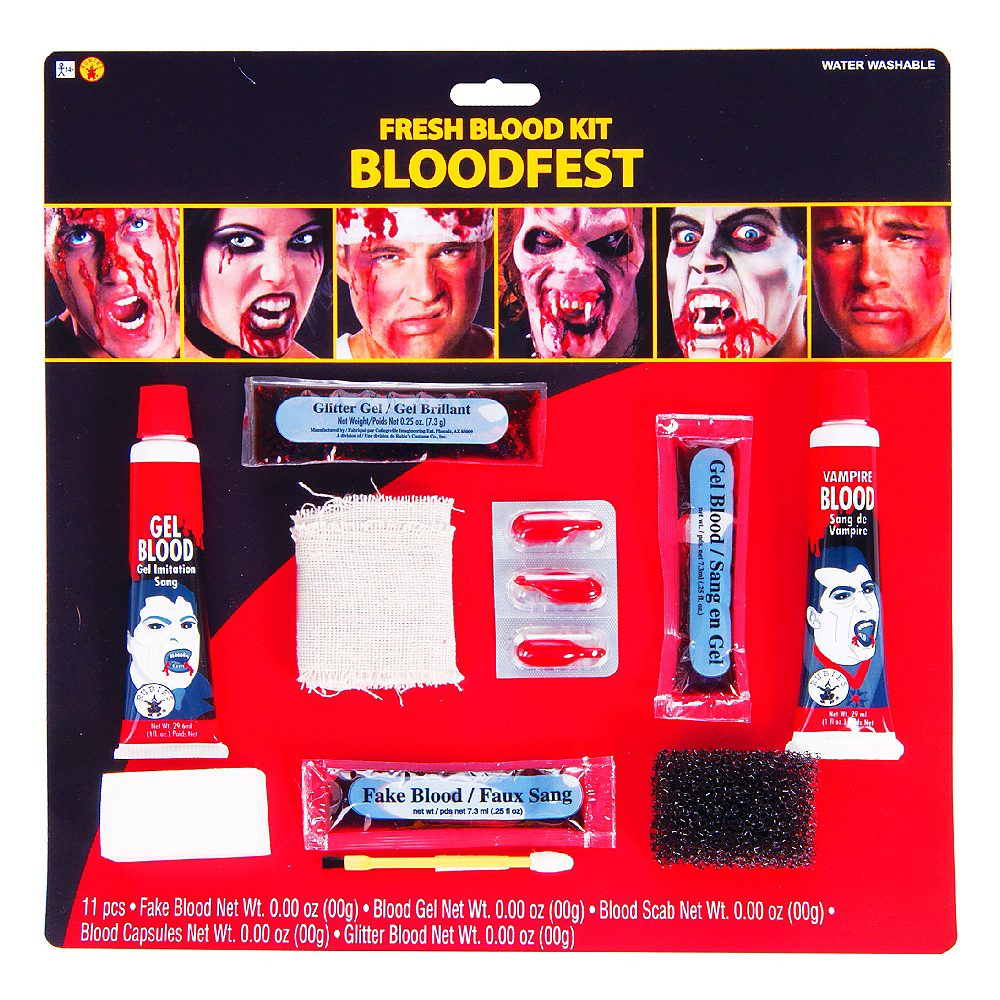 Deluxe Blood Makeup Kit Image #1