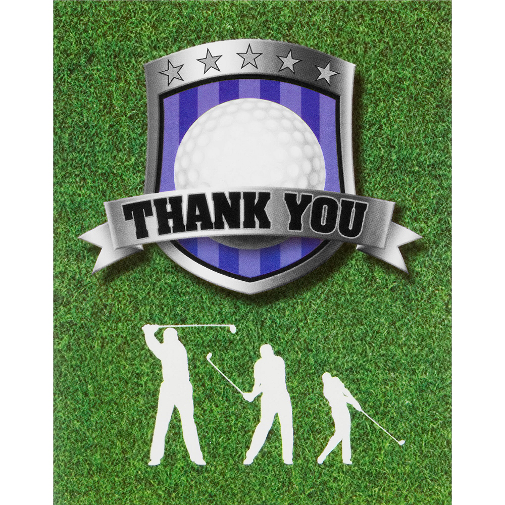 Golf Thank You Notes 8ct Image #1