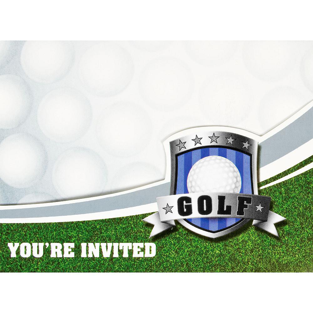 Birdie Golf Invitations 8ct Image #1
