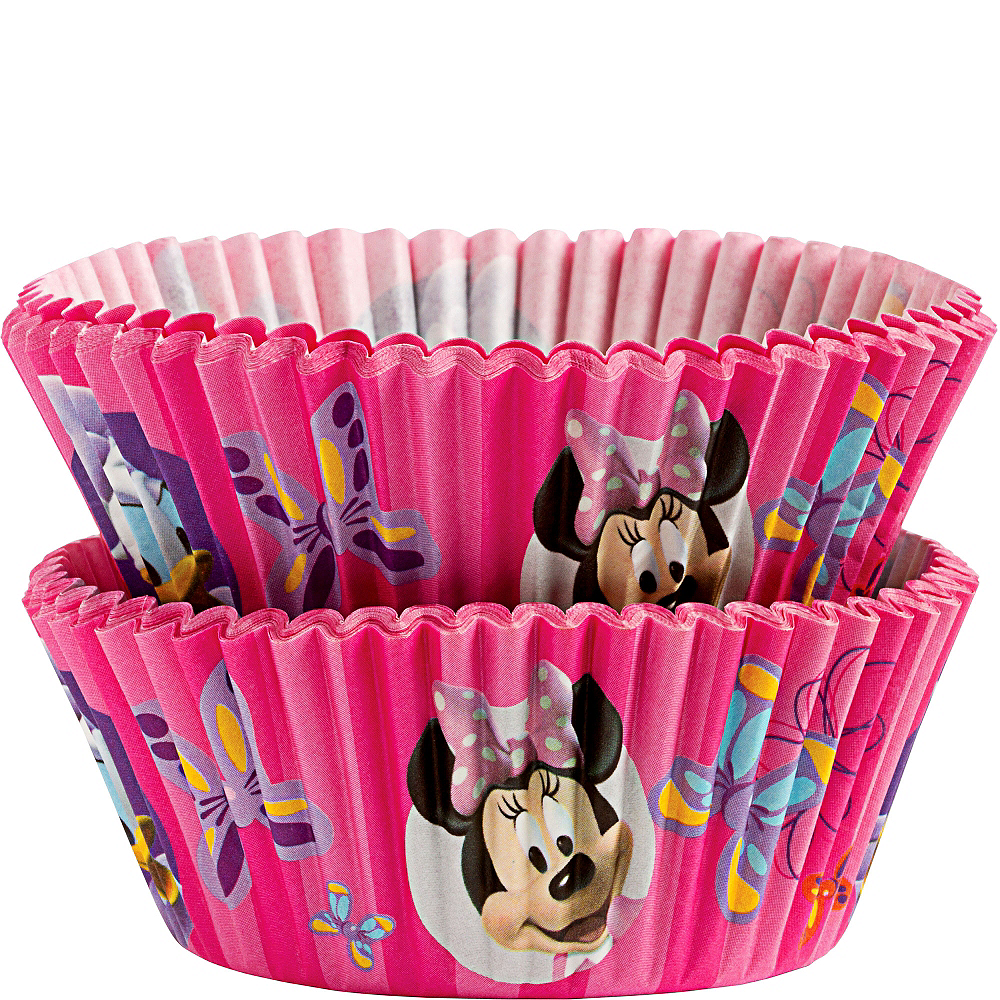 Wilton Minnie Mouse Baking Cups 50ct Image #1