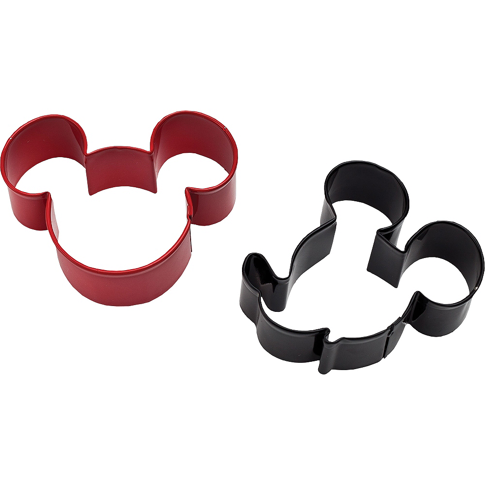 Wilton Mickey Mouse Cookie Cutter Set 2ct Image #1