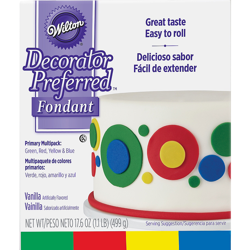Nav Item for Wilton Multicolor Rolled Fondant Image #1