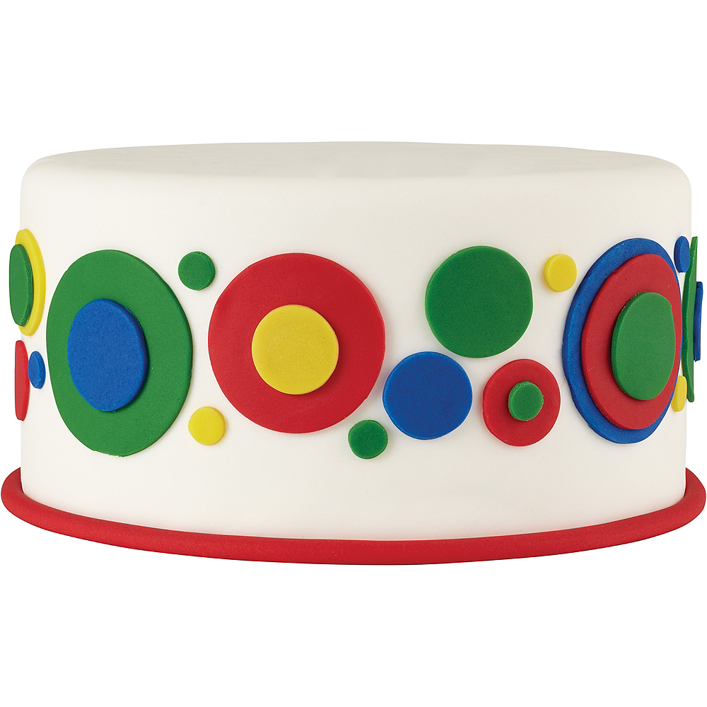 Nav Item for Wilton Multicolor Rolled Fondant Image #2