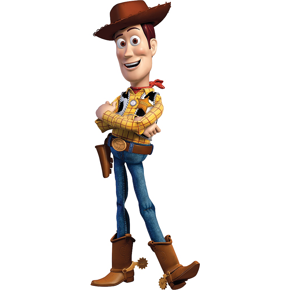 Toy Story Woody Life Size Cardboard Cutout Party City