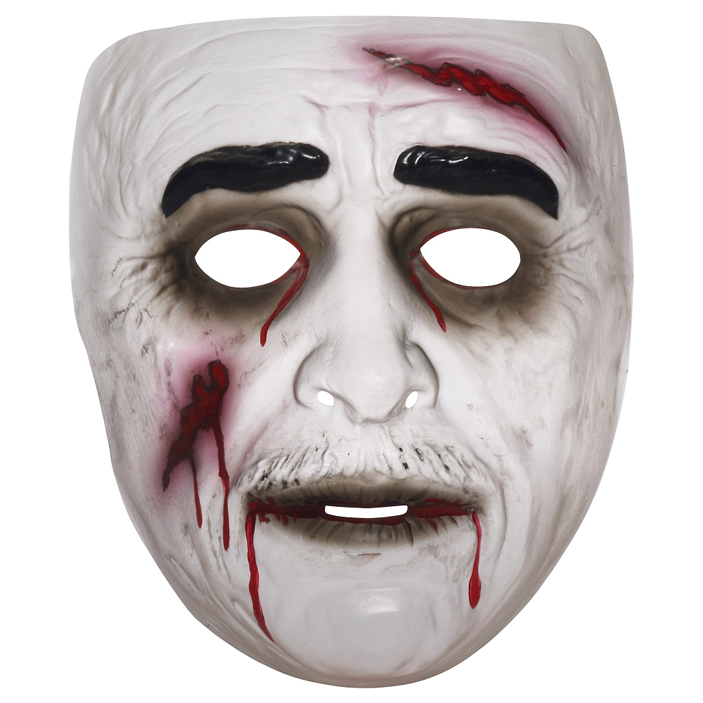 Zombie Man Mask For Adults Party City