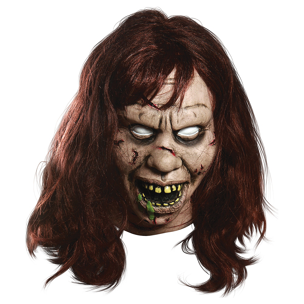 Latex Exorcist Regan Mask Deluxe Image #1