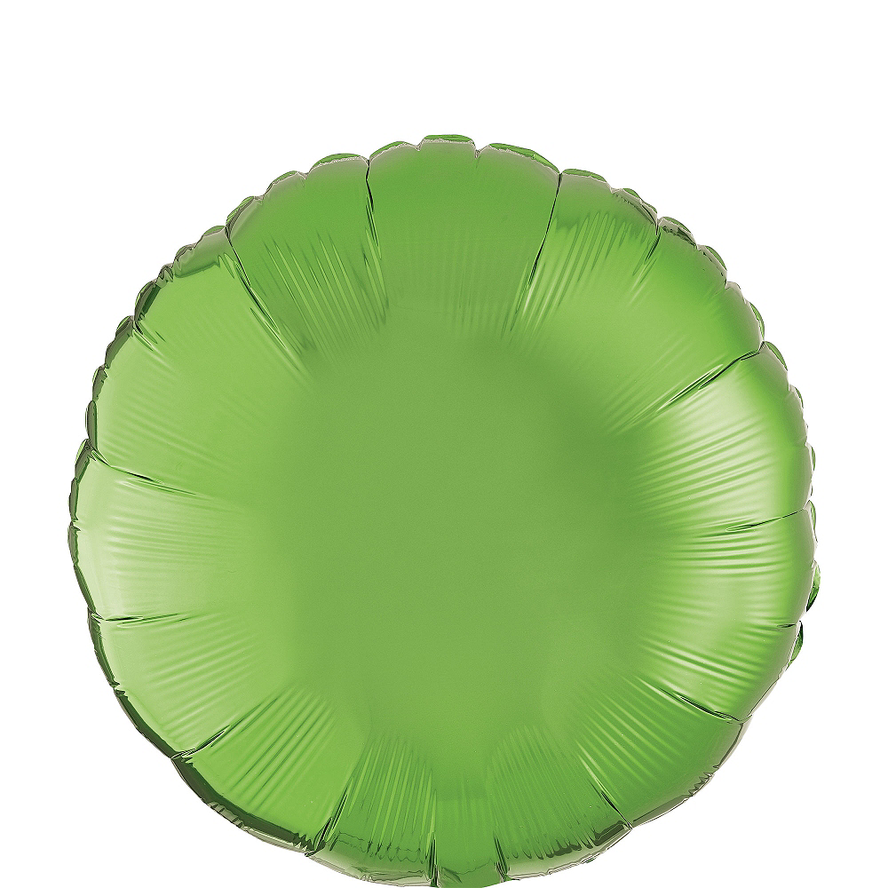 Kiwi Green Round Balloon Image #1