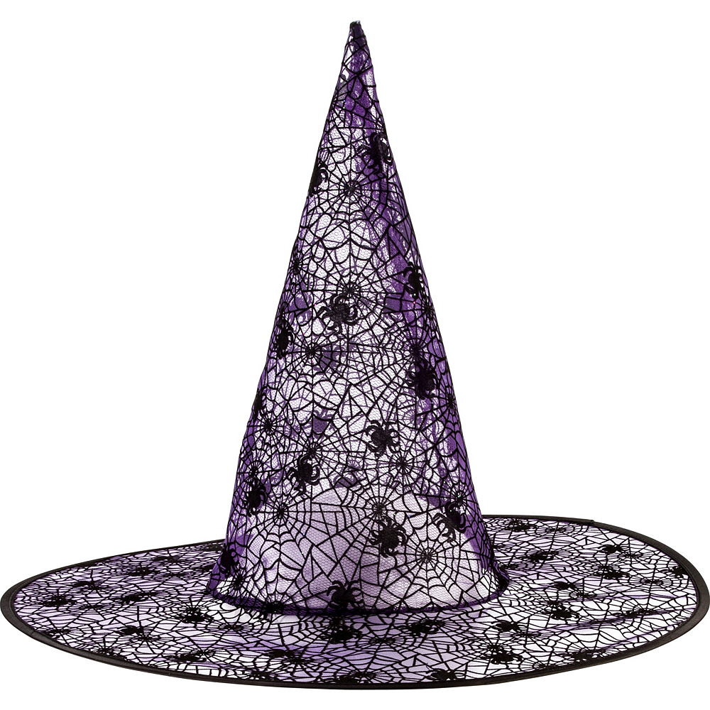 Classic Purple Witch Hat Image #1