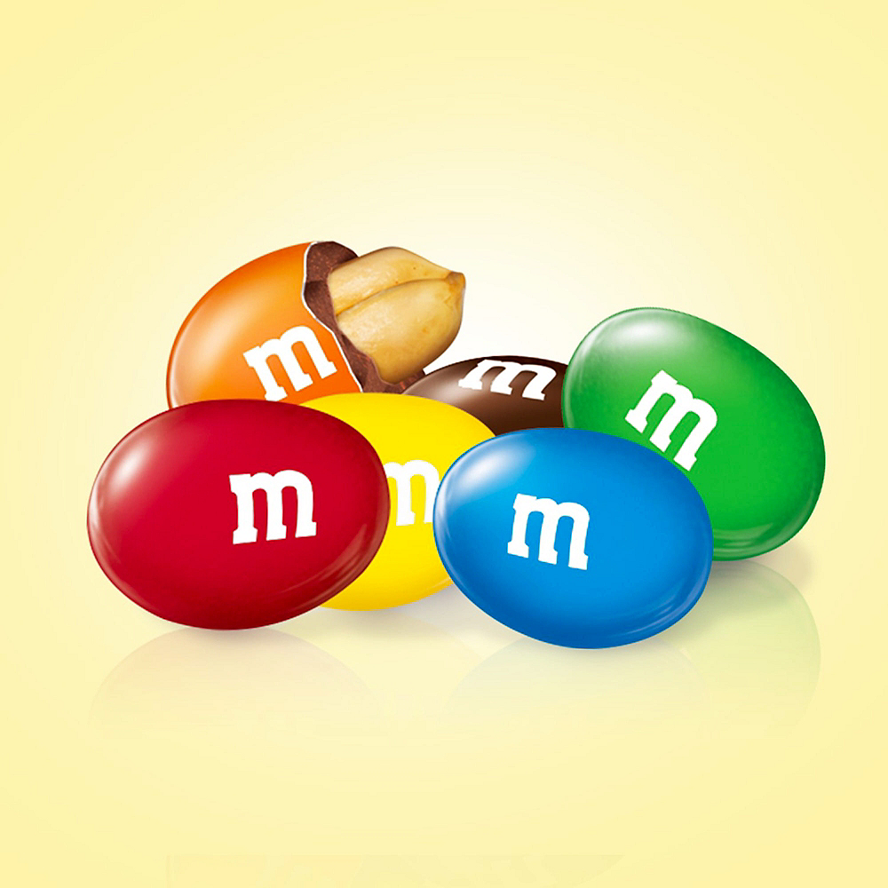 M&M's Chocolate Candies, 1.74oz - Peanut Image #2