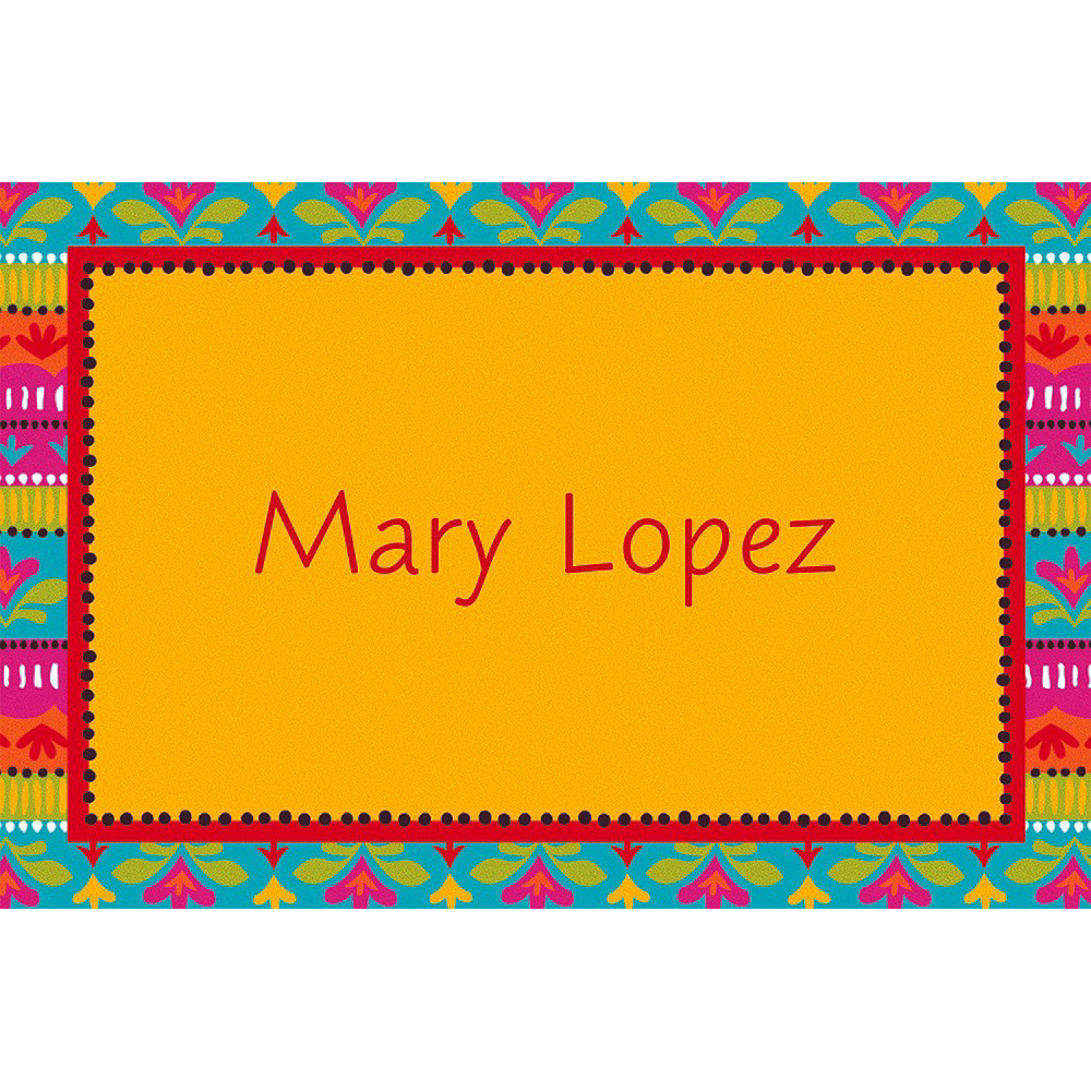 Custom Fiesta Brights Thank You Notes Image #1
