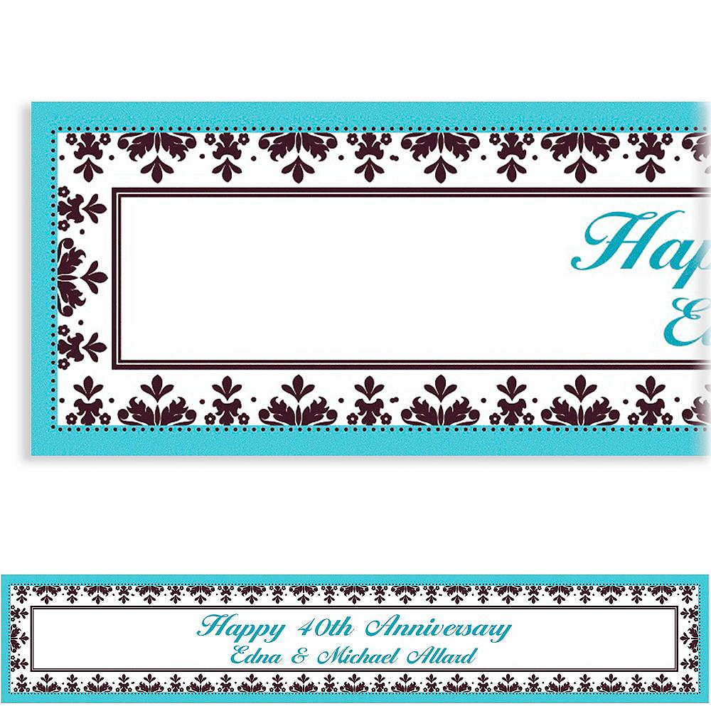 Custom Always & Forever Wedding Banner 6ft Image #1
