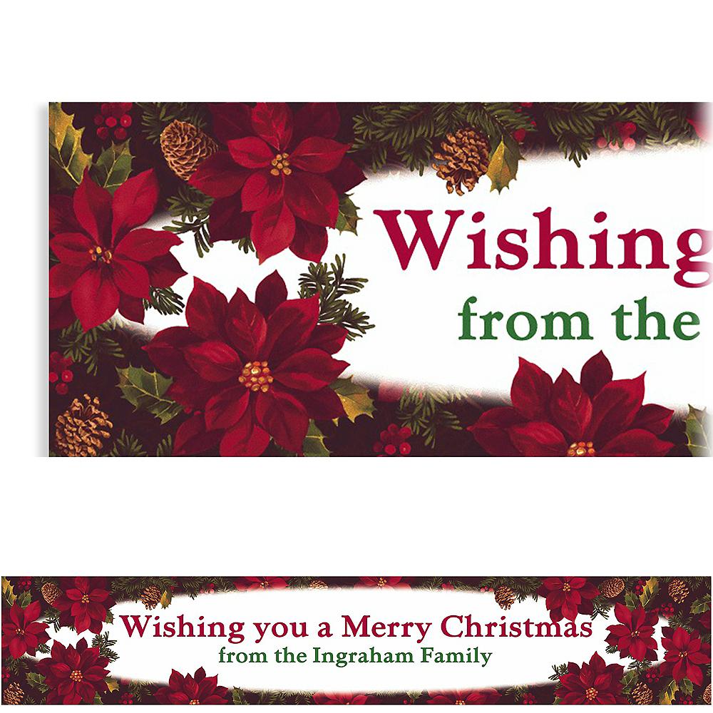 Custom Holiday Enchantment Banner 6ft Image #1