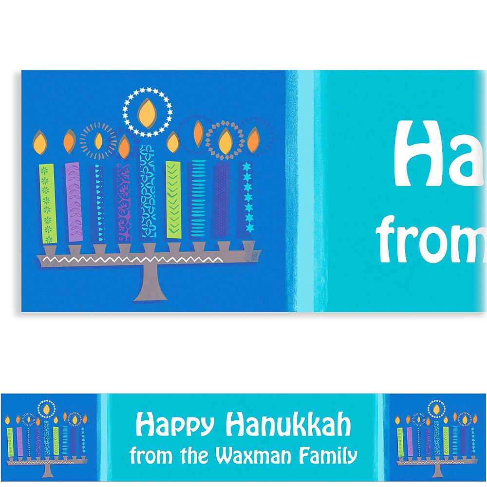 Custom Hanukkah Wishes Banner 6ft Image #1