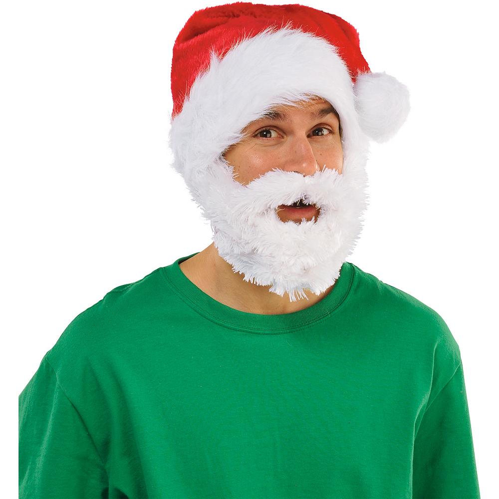 Santa Hat with Beard Image #2
