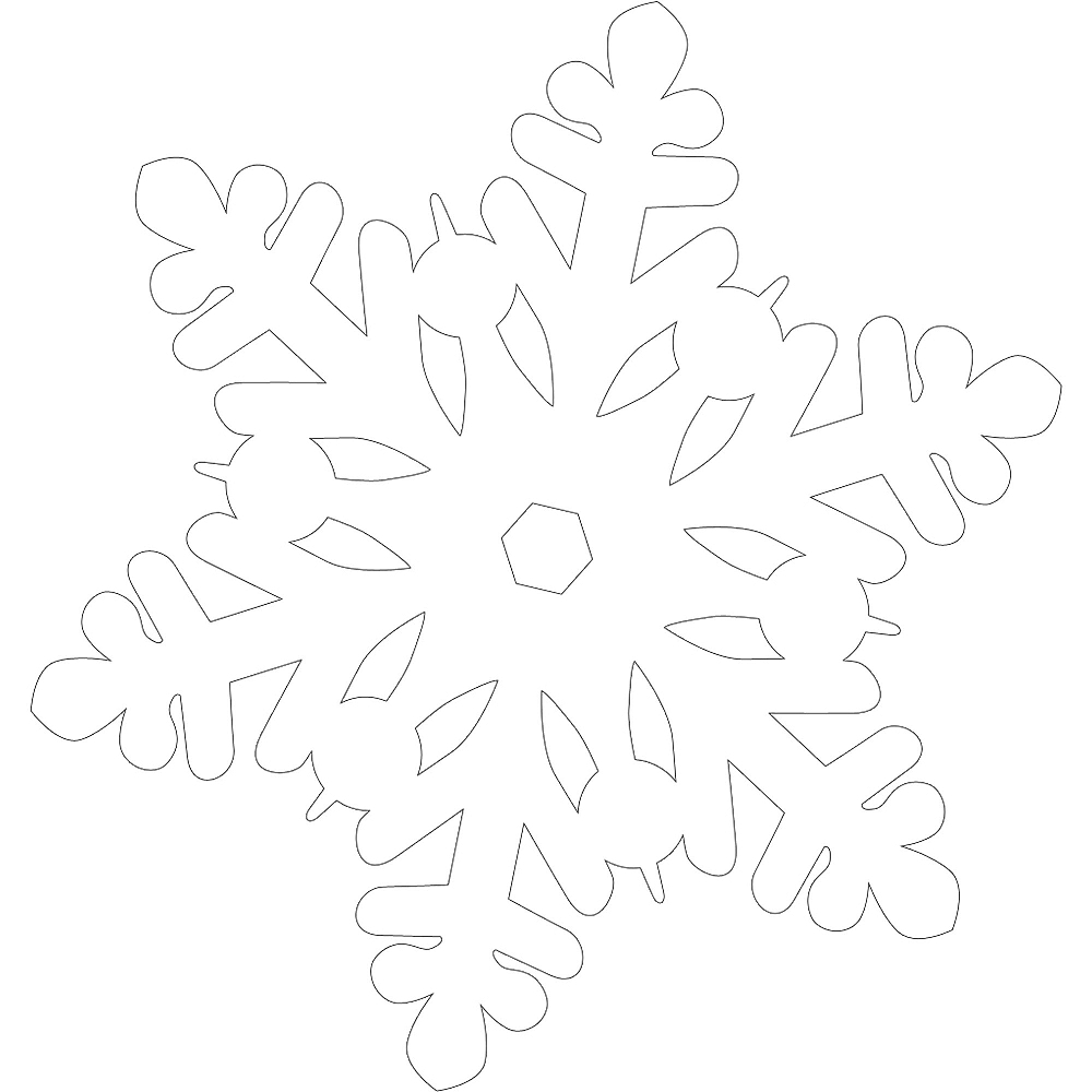 Nav Item for Glitter Snowflake Cutouts 20ct Image #2