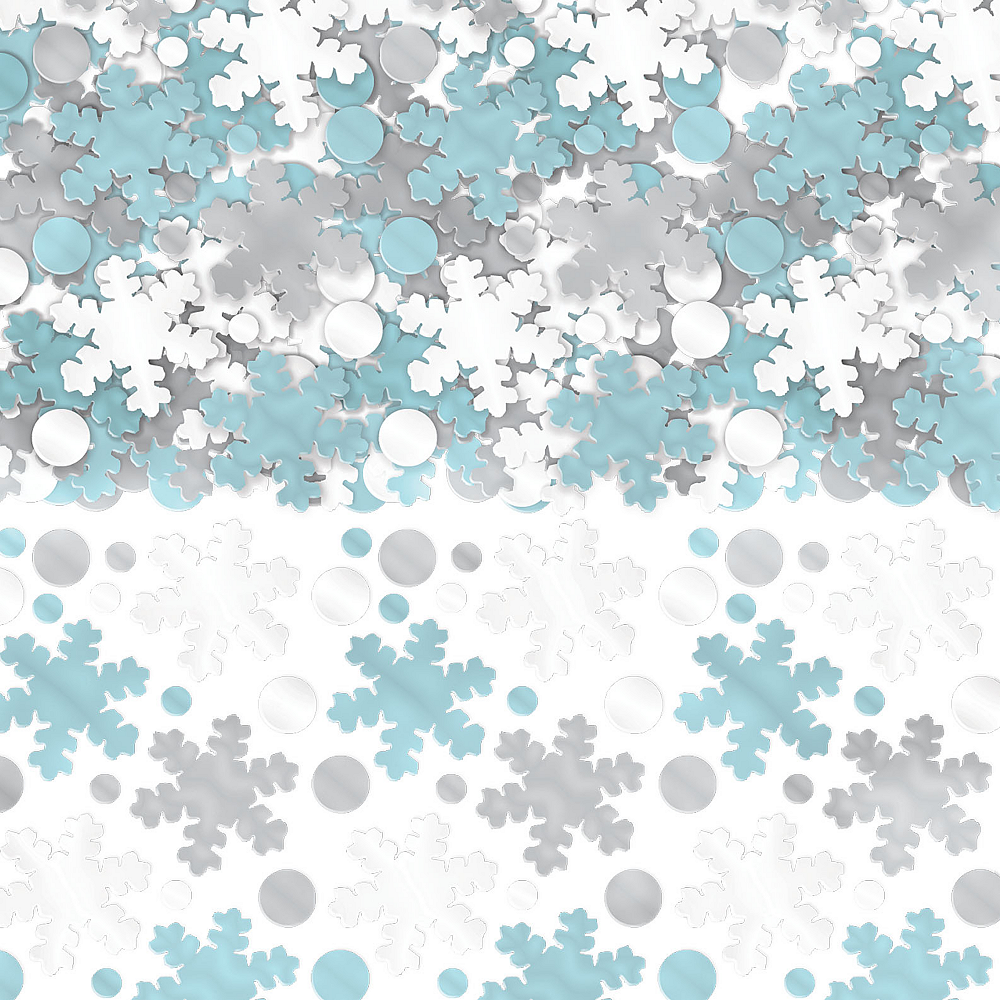 Snowflake Confetti Image #1