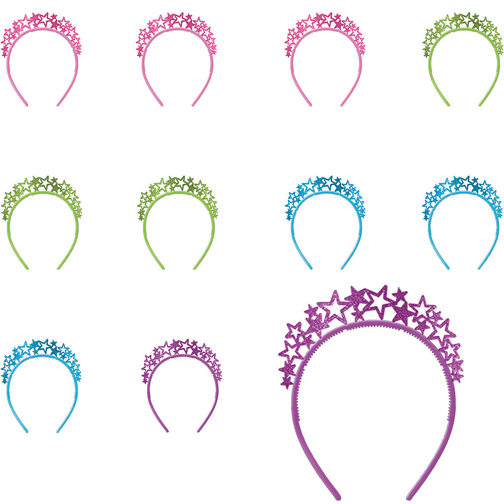 Colorful Headband Multipack 12ct Image #1