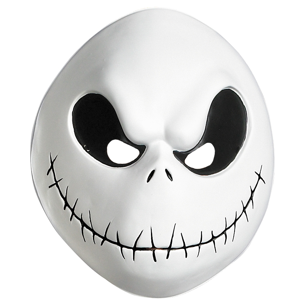 Nav Item for Plastic Jack Skellington Mask Image #1