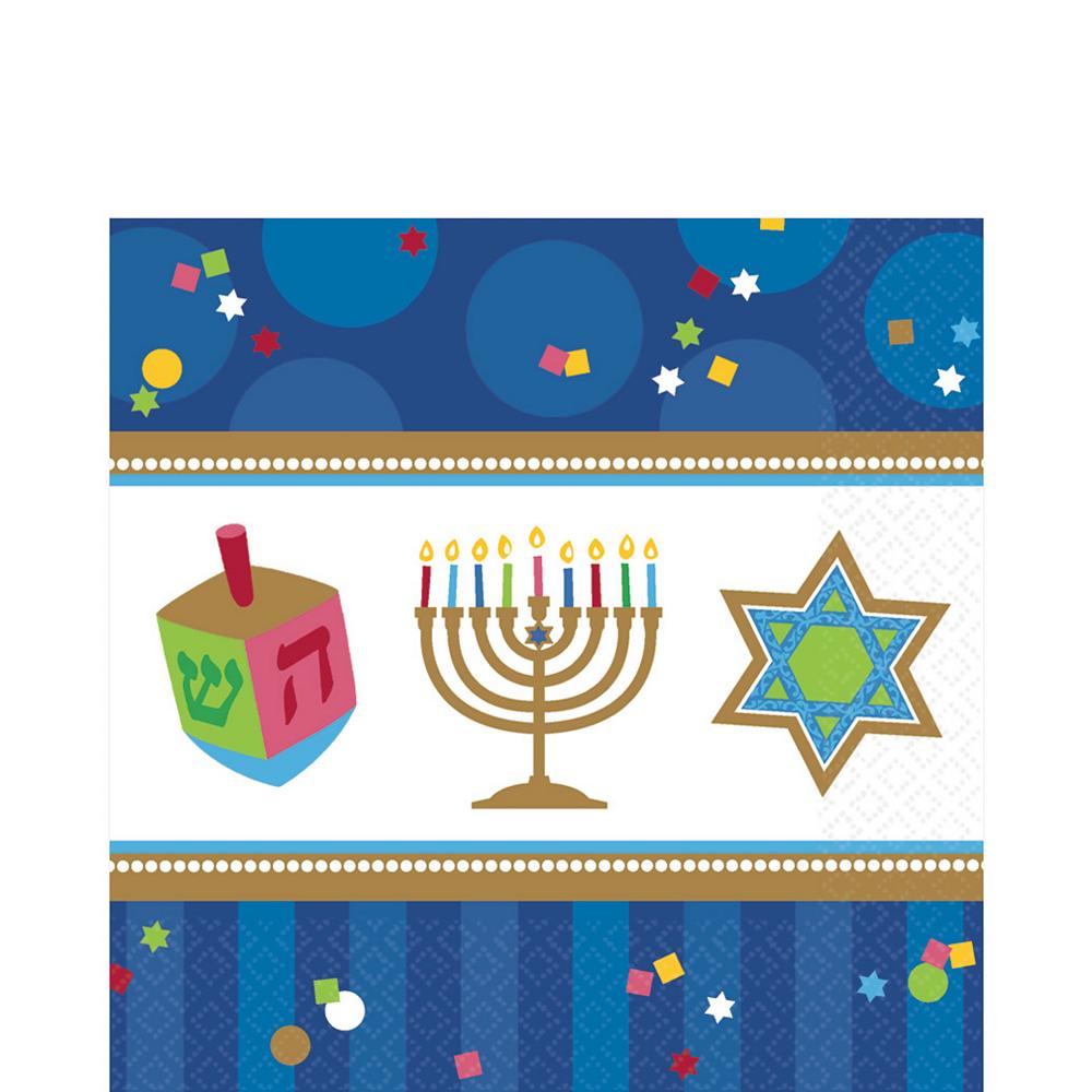 Hanukkah Celebrations Lunch Napkins 36ct Image #1