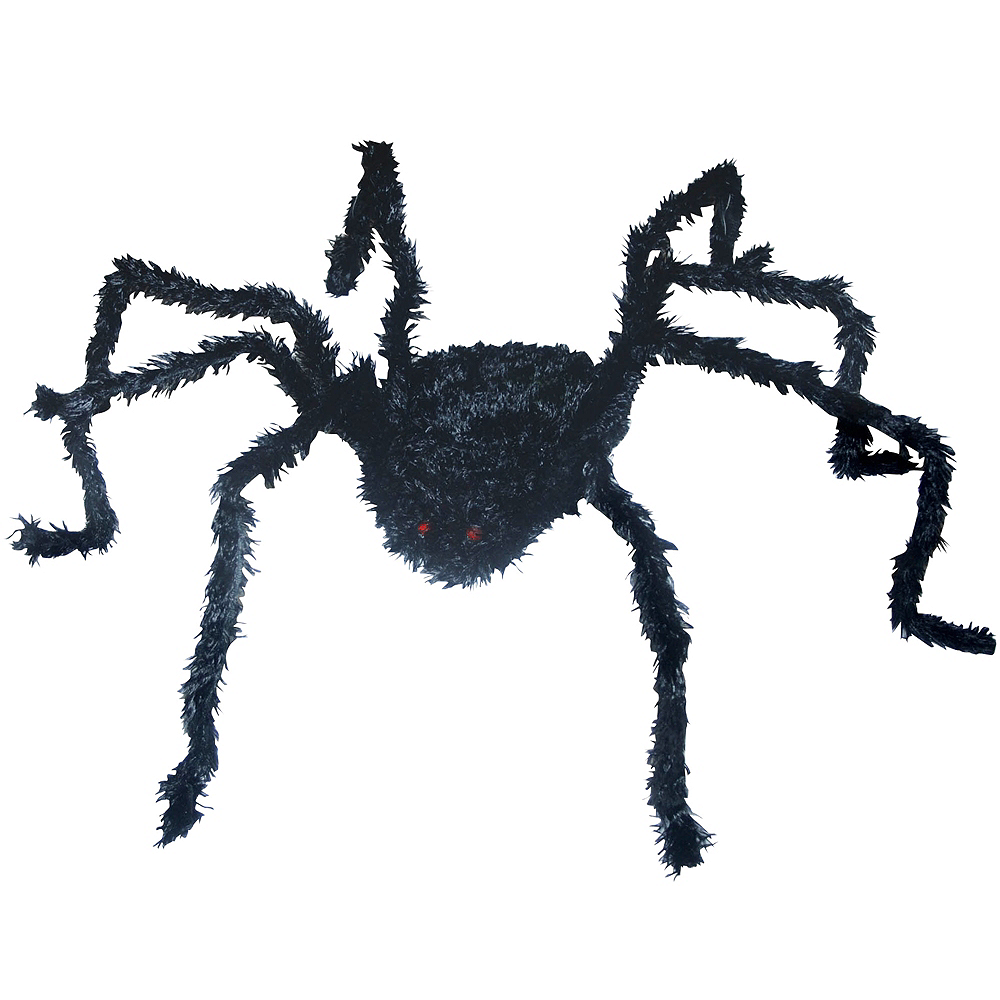 Light-Up Hairy Poseable Spider Image #1