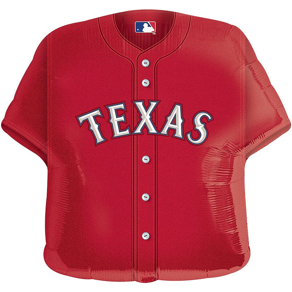 Nav Item for Texas Rangers Balloon - Jersey Image #1