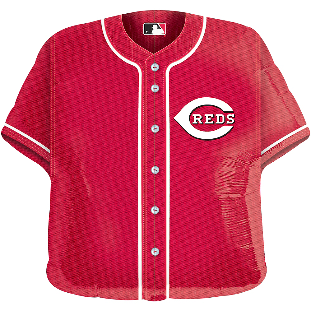 Nav Item for Cincinnati Reds Balloon - Jersey Image #1