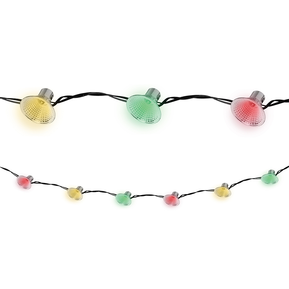 Rainbow Strobe String Lights Image #1
