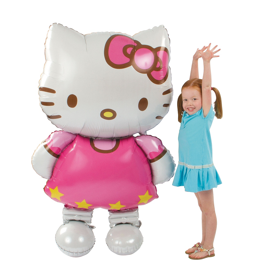 Nav Item for Giant Gliding Hello Kitty Balloon, 50in Image #1