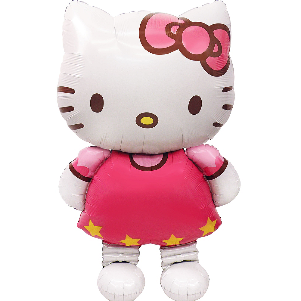 Nav Item for Giant Gliding Hello Kitty Balloon, 50in Image #2