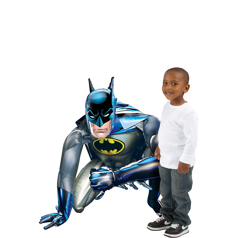 Giant Gliding Batman Balloon, 44in Image #1