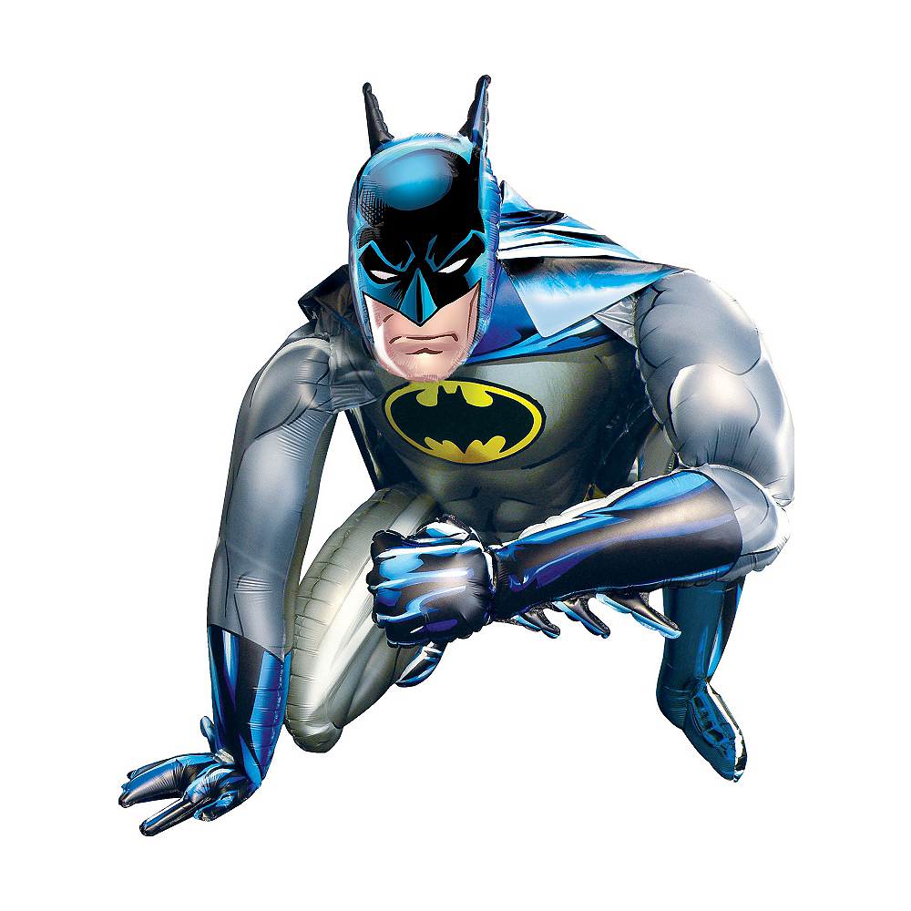 Giant Gliding Batman Balloon, 44in Image #2