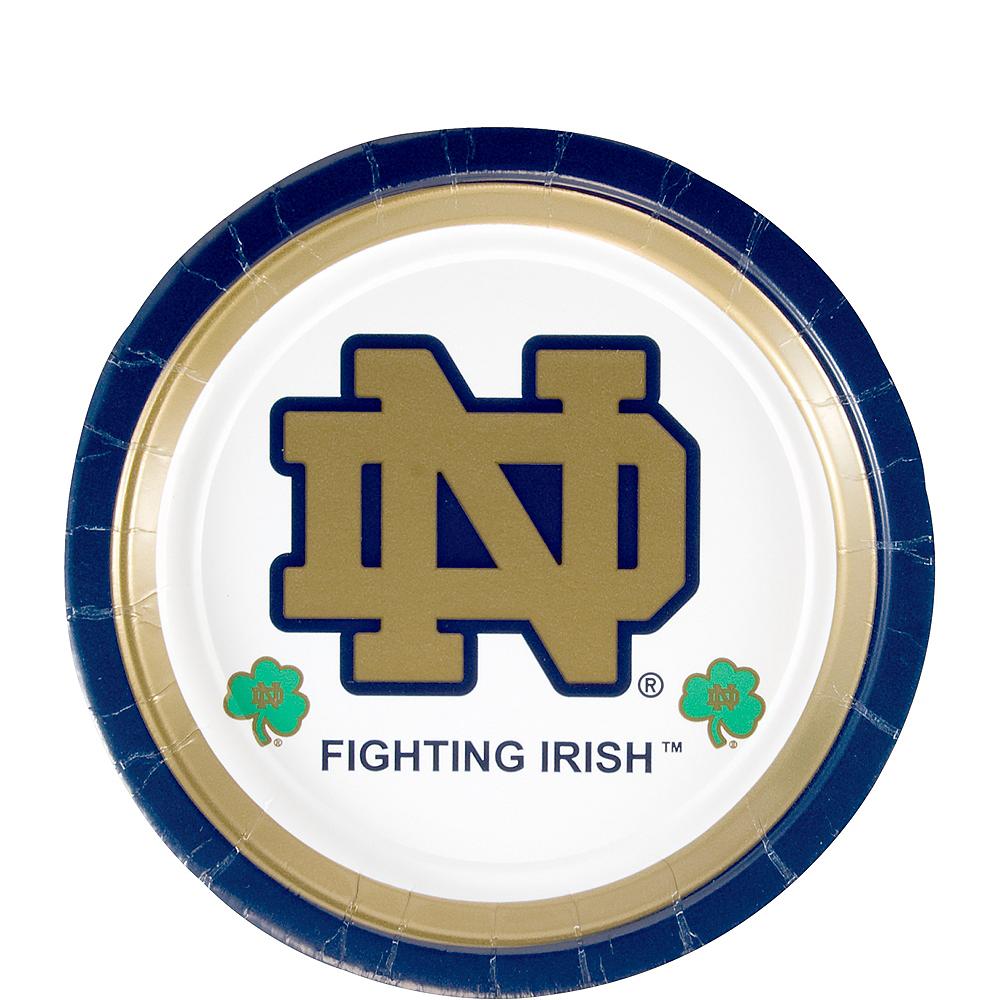 Notre Dame Fighting Irish Dessert Plates 8ct Image #1