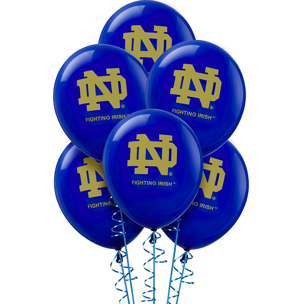 Notre Dame Fighting Irish Balloons 10ct Image #1