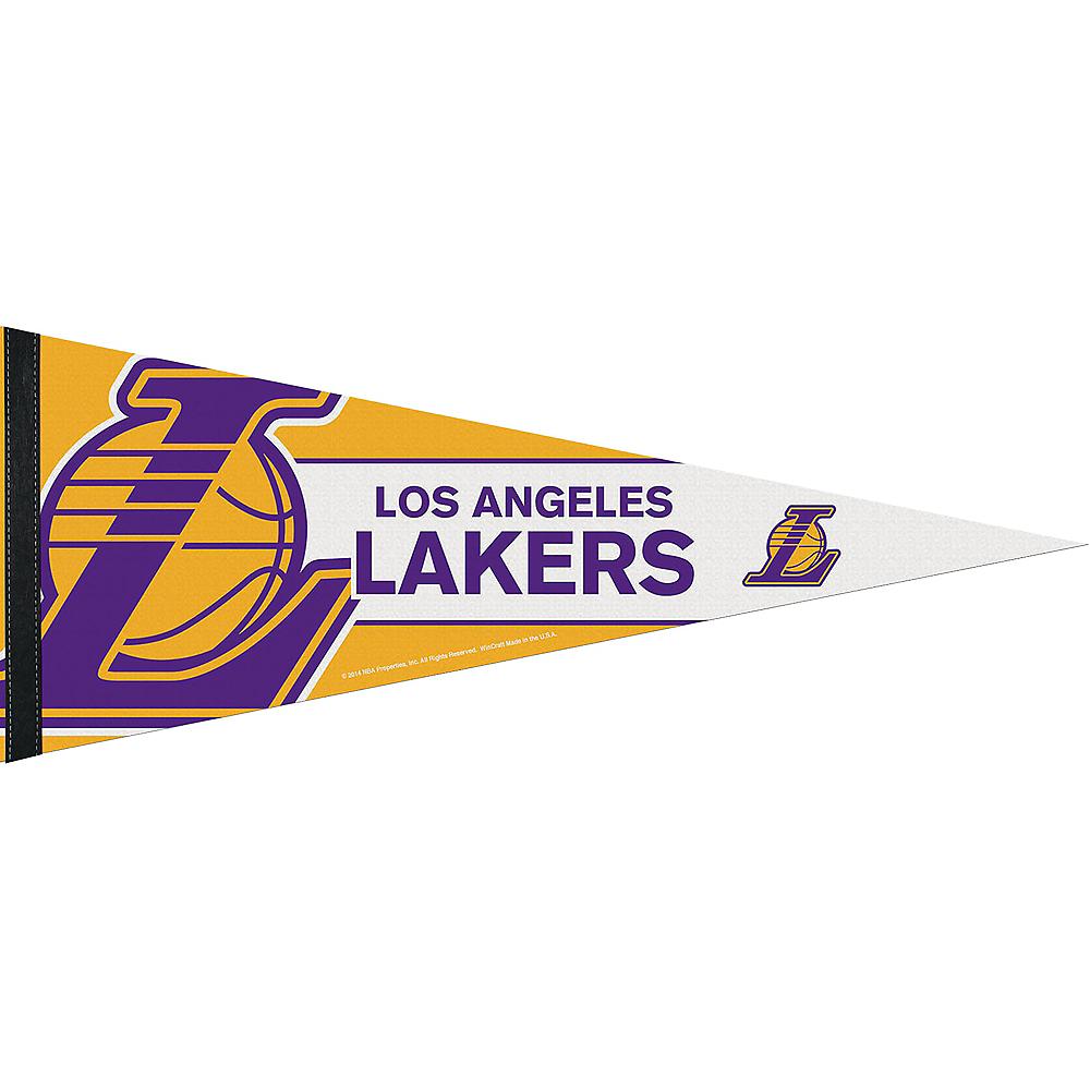 Los Angeles Lakers Pennant Flag Image #1