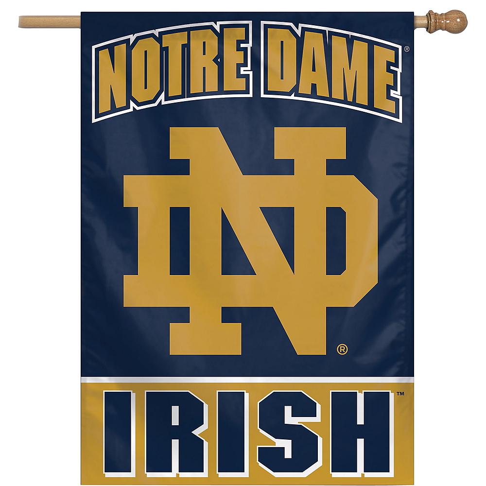 Notre Dame Fighting Irish Banner Flag Image #1