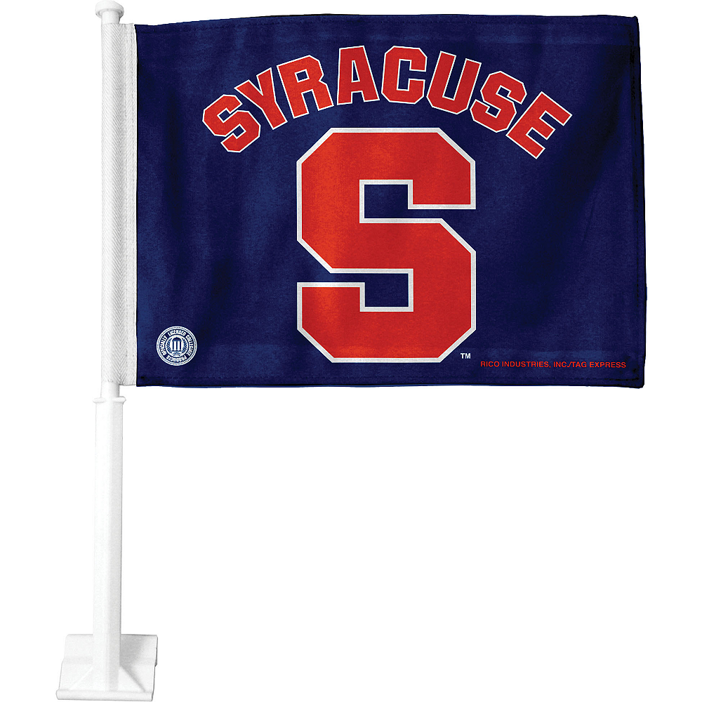 Syracuse Orange Car Flag Image #1