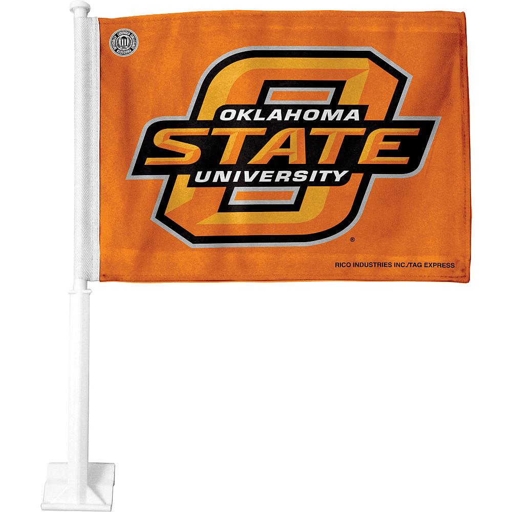 Oklahoma State Cowboys Car Flag Image #1