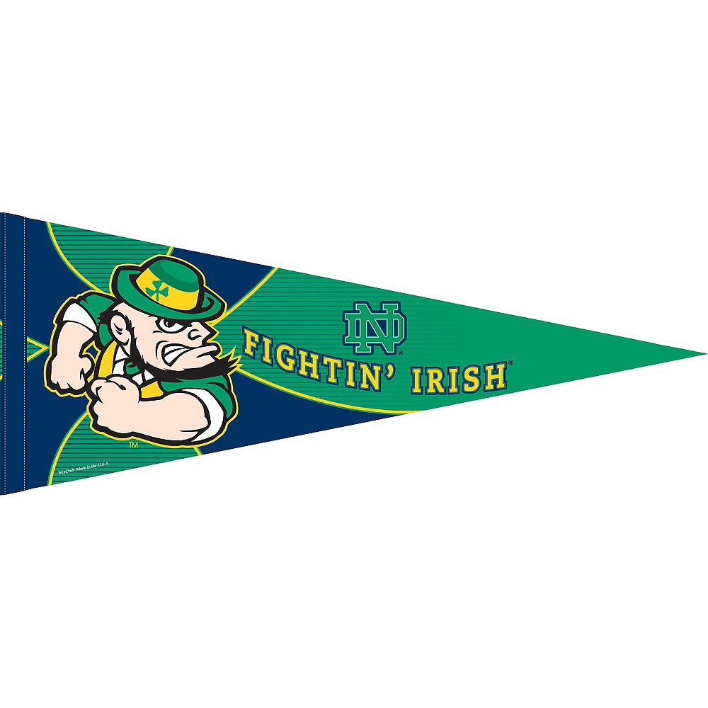 Notre Dame Fighting Irish Pennant Flag Image #1