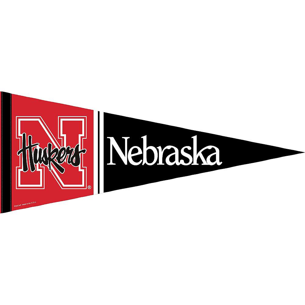 Nebraska Cornhuskers Pennant Flag Image #1